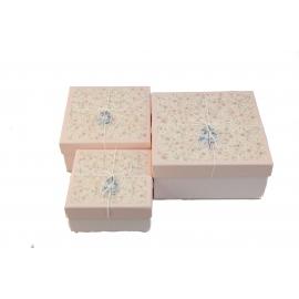 Набір коробок для подарунків з 3 шт JKZ-50