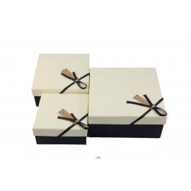 Набор коробок для подарков с 3 шт JKZ-47