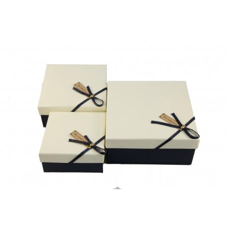 Набір коробок для подарунків з 3 шт JKZ-47