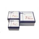 Набір коробок для подарунків з 3 шт JKZ-26