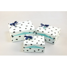 Set of cardboard boxes for gifts with 3 pcs HL-06412-5