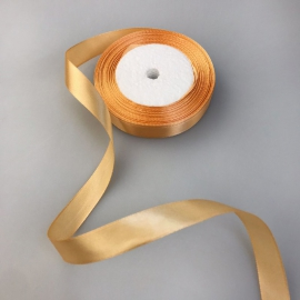 Satin ribbon 2 cm * 25 yards Apricot 97