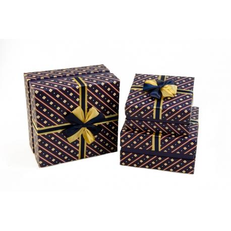 Набір коробок для подарунків з 3 шт NC06-31