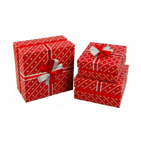 Набір коробок для подарунків з 3 шт NC06-32