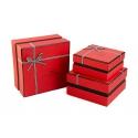 Набор коробок для подарков с 3 шт NC06-34