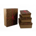Набор коробок для подарков с 4 шт NP-14