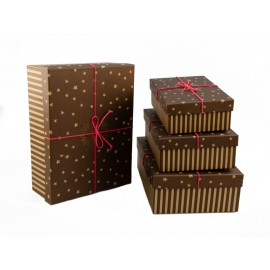 Set of gift boxes from 4 pieces of NP-14
