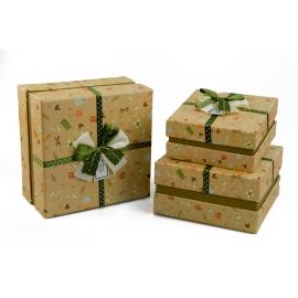 Набор коробок для подарков с 3 шт NC06-15