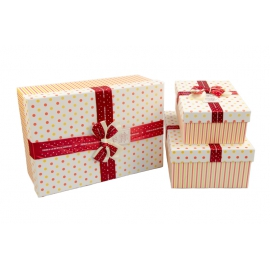 Set of gift boxes with 3 pieces 10243