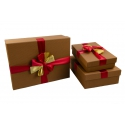 Set of boxes for gifts from 3 pieces 91306-6