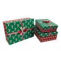 Набір коробок для подарунків з 2шт 91307-5