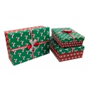 Set of boxes for gifts from 3 pieces 91307-5