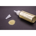 Powder in a bottle of 80 g of gold