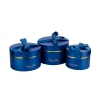 Round box set with 3 pcs 084-1 blue