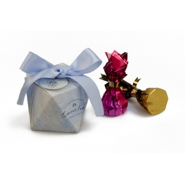 Бонбоньєрка для цукерок 105-4011 сіра