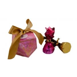 Бонбоньєрка для цукерок 105-4011 малинова
