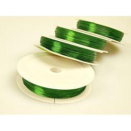 Дріт 0,4× 50м. зелений