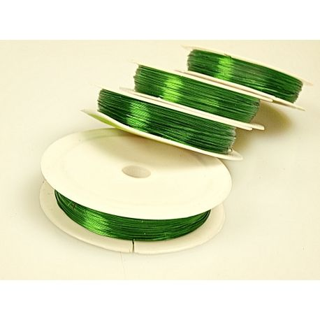 Дріт 0,3 зелений