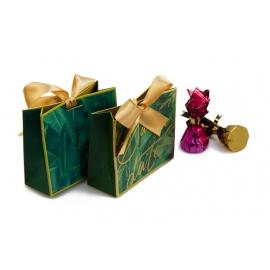 Бонбоньєрка для цукерок 119-9005 зелена