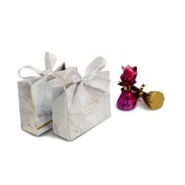 Бонбоньєрка для цукерок 119-9005 сіра