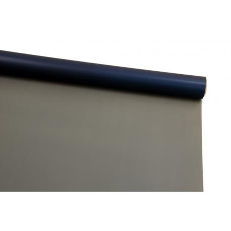 Плівка двостороння в рулоні 0,6х8 м P.OY-121 Dark Blue + Charcoal