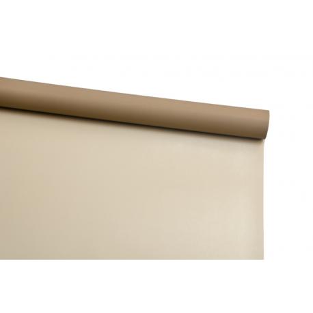Пленка двусторонняя в рулоне 0,6х8 м P.OY-154 Milky Tea + Light Brown