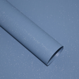 Shimmer film in a roll of 0.6 x 5 m P.FLS-103 Columbia Blue