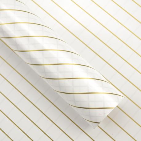 Плівка двостороння в рулоні 0,6 х 8 м діагональ P.MD-001-111 White