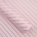 Пленка двусторонняя в рулоне 0,6 х 8 м диагональ P.MD-001-165 Light Pink