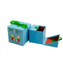 Set of cubic Christmas gift boxes with 2 pcs W7850