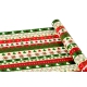 """Paper coated New Year's 0,7m * 10yards """"Embroidered New Year's ornament"""