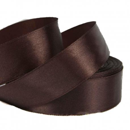 Satin ribbon 2.5cm * 25yard Cinnamon 32