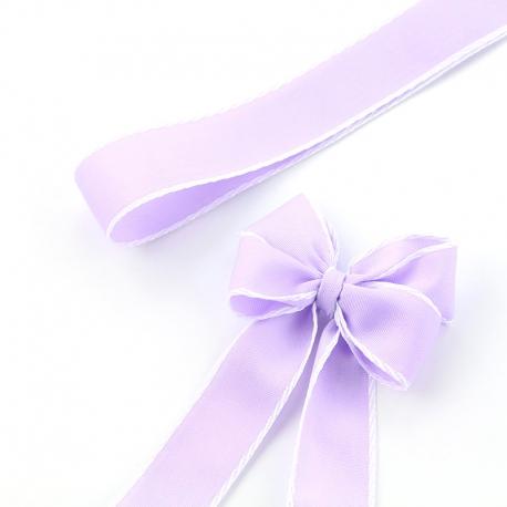 Лента текстильная R.TY 2,5 см * 25ярд 032 Lavender