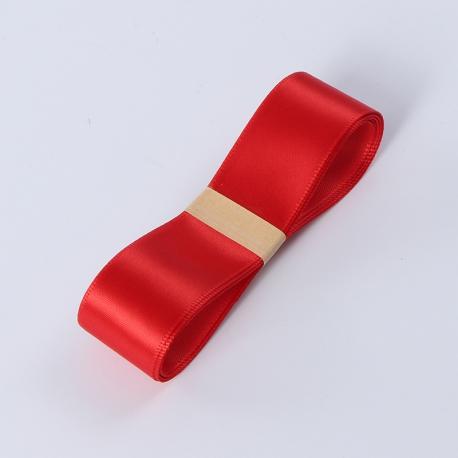 Лента атласная R.CSZD.025-012 Красная