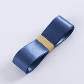 Satin ribbon R.CSZD.025-104 Blue Smoke