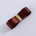 Лента атласная R.CSZD.025-151 Chocolate