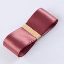 Стрічка атласна 3,8см * 50ярд R.CSZD.038-013 Brick Red