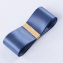 Стрічка атласна 3,8см * 50ярд R.CSZD.038-104 Blue Smoke