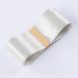 Satin ribbon R.CSZD.038-113 White