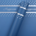 Пленка матовая в листах Happiness P.HX 105 Carolina Blue