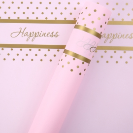 Matte film in Happiness P.HX 165 Light Pink sheets