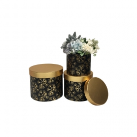 Set of tubes with 3 pieces W5111 Dandelion on black