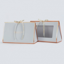 Бумажный пакет для цветов HB.CHB-111 White