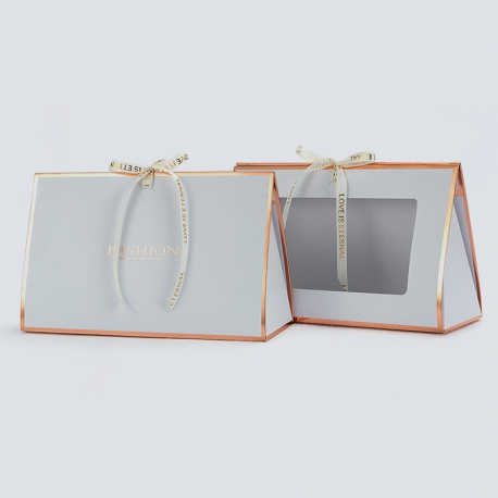 Paper package for flowers HB.CHB-111 White