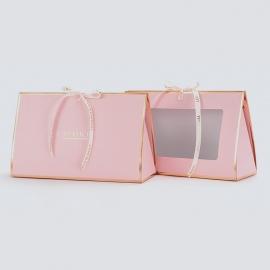 Паперовий пакет для квітів HB.CHB-164 Pink