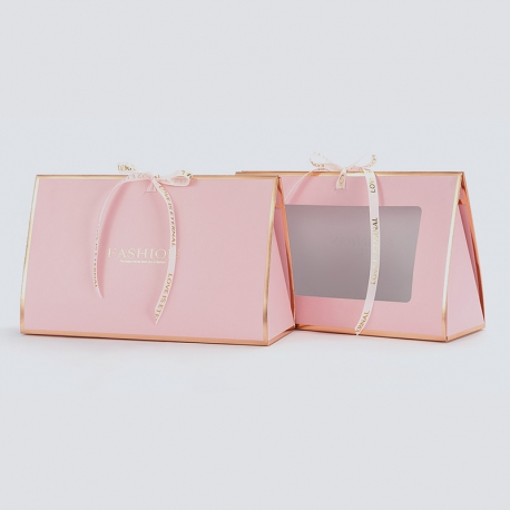 Paper package for flowers HB.CHB-164 Pink