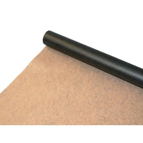 Бумага Мультиколор President 0,7х8м Крафт + Черный