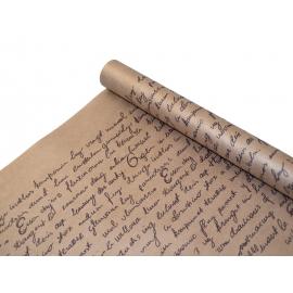 """Kraft paper 0,7х8m """"Letter"""" black"""