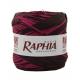 Raffia Italy 200m crimson + black