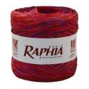 Рафия Италия 200 м Красный + Малина + Фиолет